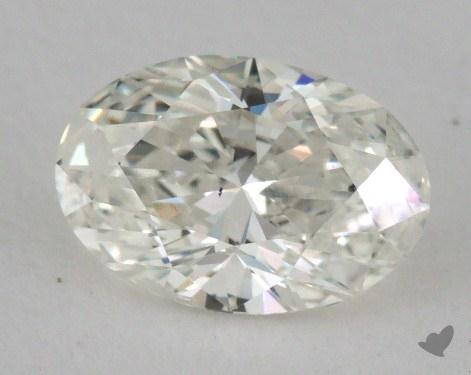 0.73 Carat I-SI2 Oval Cut Diamond