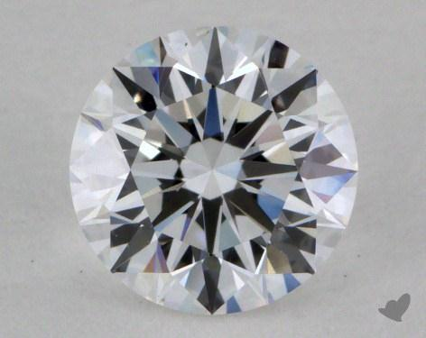 0.80 Carat D-VS1 Very Good Cut Round Diamond