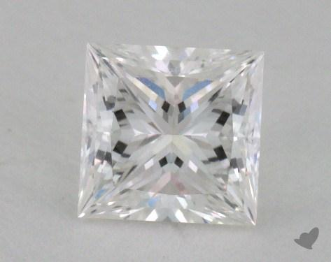 1.01 Carat F-VVS1 Ideal Cut Princess Diamond