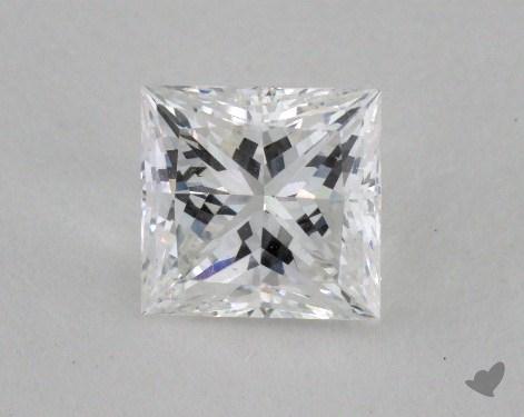 1.05 Carat E-SI1 Very Good Cut Princess Diamond