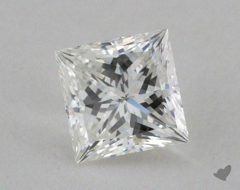 1.02 Carat G-SI2 Ideal Cut Princess Diamond