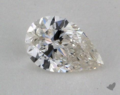 0.52 Carat G-SI1 Pear Shaped  Diamond