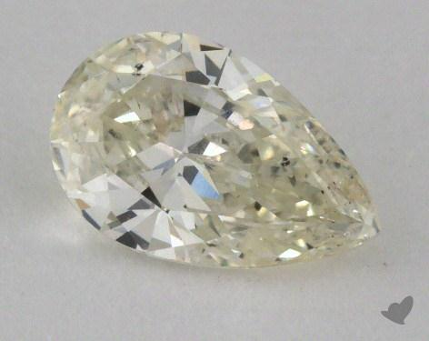 0.91 Carat J-SI2 Pear Cut Diamond 