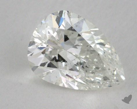 1.41 Carat G-SI2 Pear Cut Diamond