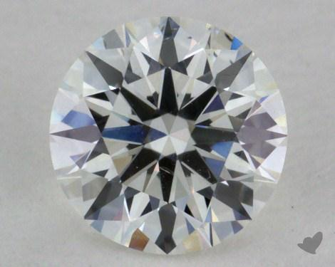 0.54 Carat H-VS2 Excellent Cut Round Diamond