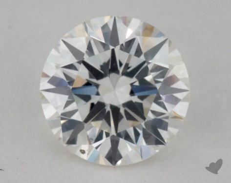 0.56 Carat I-VS2 Excellent Cut Round Diamond
