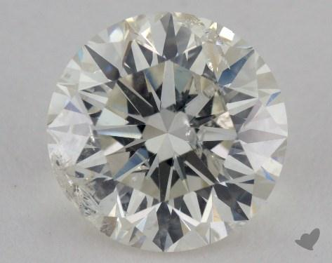 2.39 Carat K-I1 Very Good Cut Round Diamond