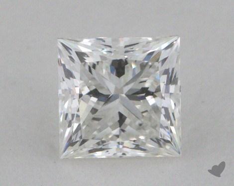 0.91 Carat F-VS1 Ideal Cut Princess Diamond
