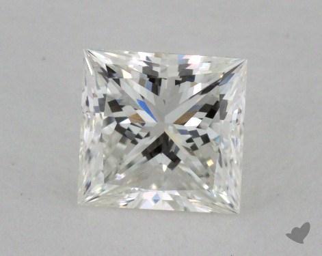 0.80 Carat H-VS1 Very Good Cut Princess Diamond
