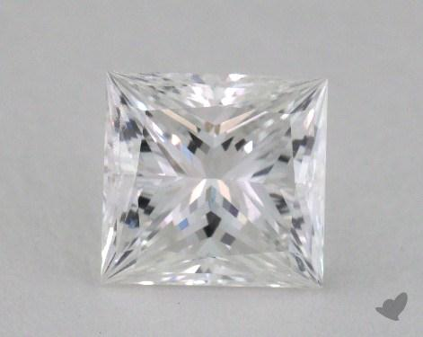 1.13 Carat F-SI1 Ideal Cut Princess Diamond