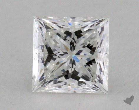 1.00 Carat F-VS2 Princess Cut  Diamond