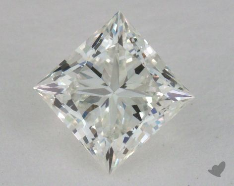 1.01 Carat I-VS1 Ideal Cut Princess Diamond