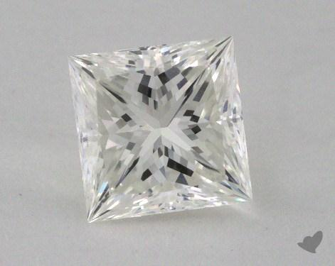 1.24 Carat I-VVS1 Ideal Cut Princess Diamond