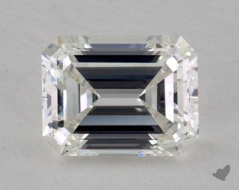1.34 Carat H-VS2 Emerald Cut  Diamond