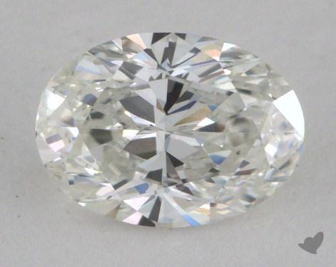 0.83 Carat G-VS1 Oval Cut Diamond
