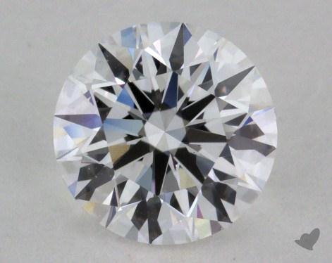 0.74 Carat D-SI1 Excellent Cut Round Diamond