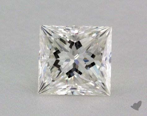 2.04 Carat I-VVS2 Ideal Cut Princess Diamond