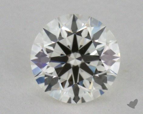 0.53 Carat J-VS2 Excellent Cut Round Diamond