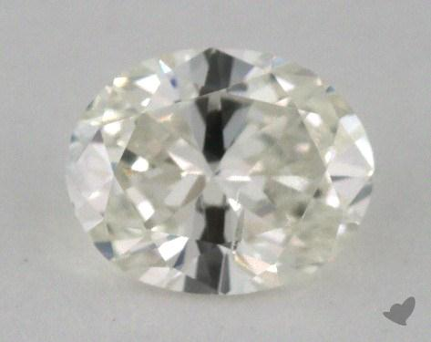 1.00 Carat I-SI2 Oval Cut  Diamond