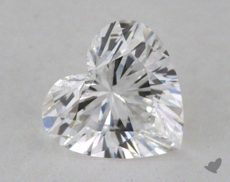 1.52 Carat E-SI2 Heart Cut Diamond 