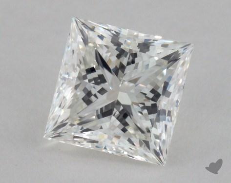 2.02 Carat G-SI1 Ideal Cut Princess Diamond