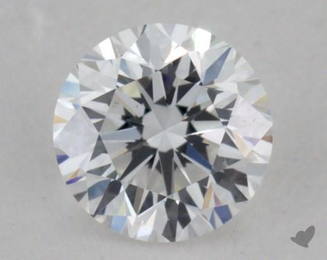 0.30 Carat D-SI1 Very Good Cut Round Diamond