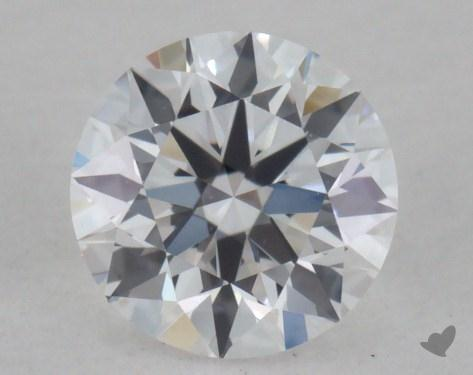 0.32 Carat D-VVS1 Excellent Cut Round Diamond