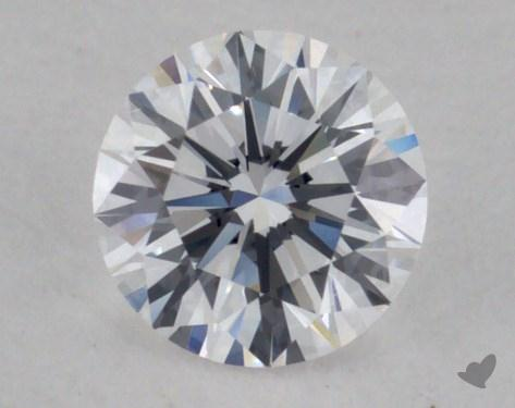 0.32 Carat D-VS1 Very Good Cut Round Diamond