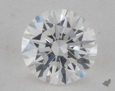 0.33 Carat G-VVS2 Ideal Cut Round Diamond