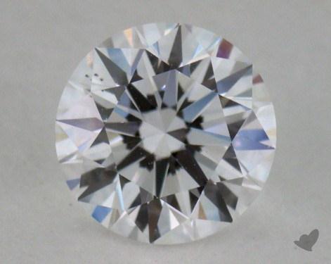 0.74 Carat D-VS2 Excellent Cut Round Diamond