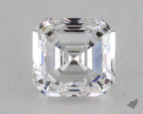 0.90 Carat D-VVS1 Asscher Cut Diamond