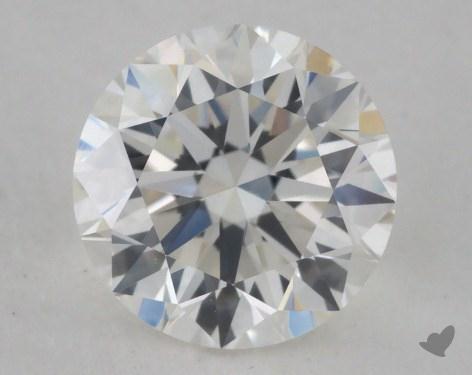 0.91 Carat H-VVS2 Very Good Cut Round Diamond