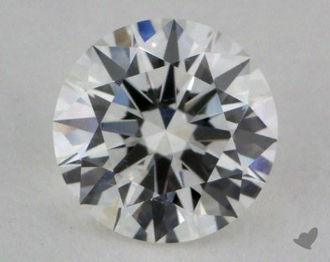 1.22 Carat H-SI1 Excellent Cut Round Diamond