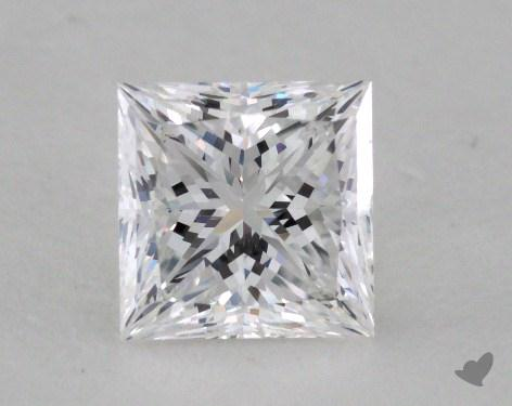 1.10 Carat D-VVS1 Ideal Cut Princess Diamond