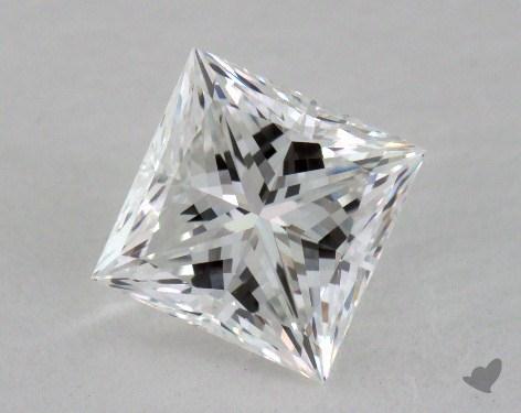 1.01 Carat F-VVS2 Ideal Cut Princess Diamond