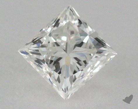 0.82 Carat H-VVS2 Very Good Cut Princess Diamond