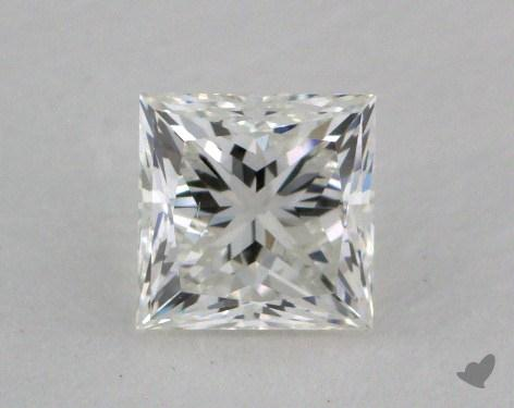 0.61 Carat H-VS1 Very Good Cut Princess Diamond