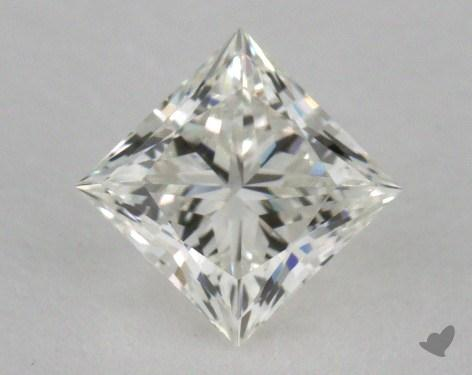 0.64 Carat H-VS1 Ideal Cut Princess Diamond
