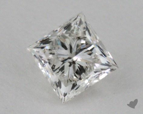 0.73 Carat G-I1 Princess Cut  Diamond