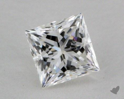 0.72 Carat G-SI1 Princess Cut Diamond