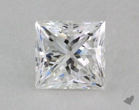 0.71 Carat E-VVS1 Princess Cut  Diamond