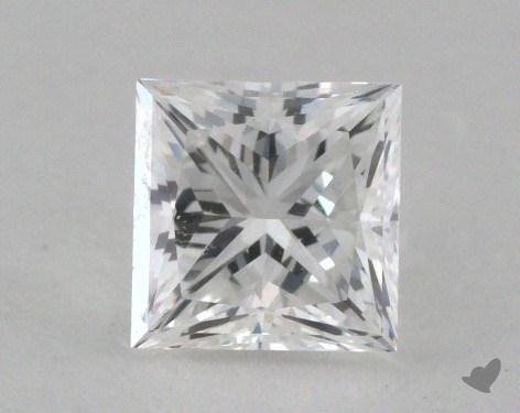 0.71 Carat E-VS1 Very Good Cut Princess Diamond