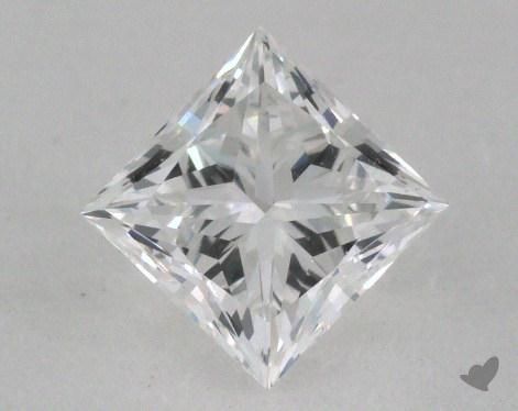 0.76 Carat F-VVS1 Princess Cut Diamond
