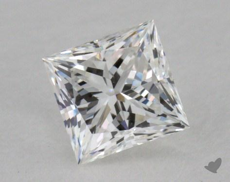 0.72 Carat F-VS1 Ideal Cut Princess Diamond