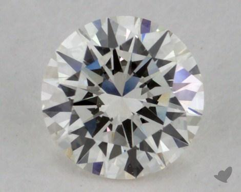 0.50 Carat I-IF Very Good Cut Round Diamond