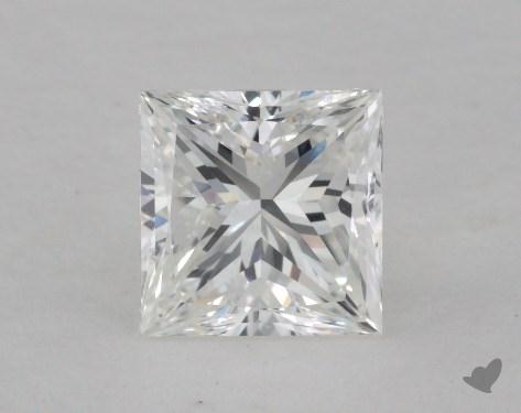 1.37 Carat G-VS2 Very Good Cut Princess Diamond