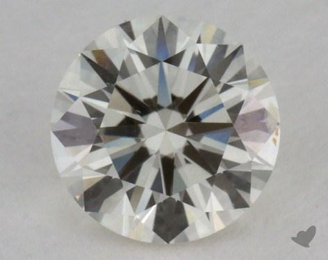 0.81 Carat J-SI2 Excellent Cut Round Diamond