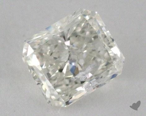 0.90 Carat G-I1 Radiant Cut  Diamond