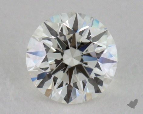 0.82 Carat H-VS1 Excellent Cut Round Diamond