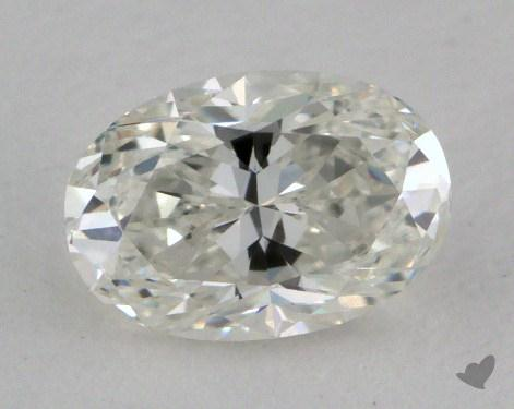 0.77 Carat G-VVS2 Oval Cut Diamond
